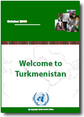 Welcome kit to Turkmenistan